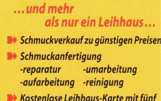 Flyer Rückseite Leihhaus Friedenau