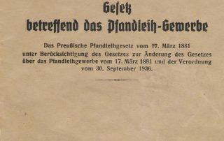Pfandleihgesetz 1936