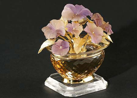 Exklusive Juwelen - Vase